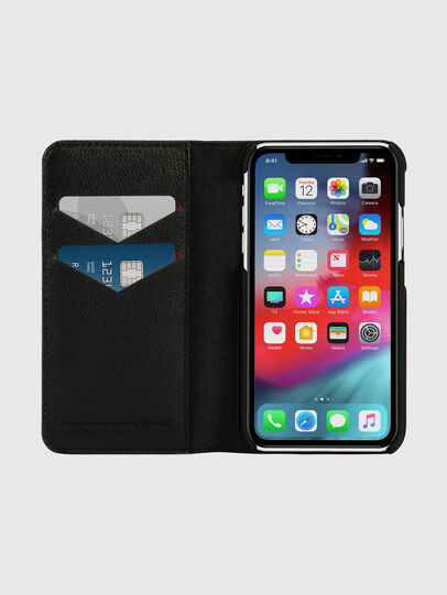 Diesel - DIESEL 2-IN-1 FOLIO CASE FOR IPHONE XR, Grey - Flip covers - Image 7