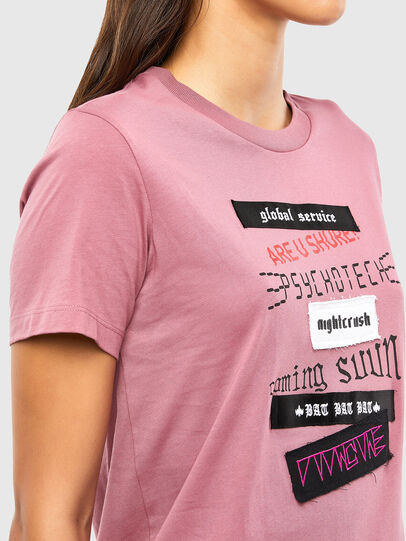 Diesel - T-SILY-V20, Pink - T-Shirts - Image 3
