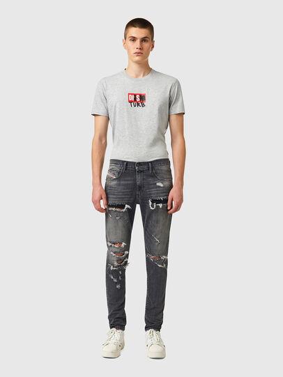 Diesel - D-Strukt 09B19, Black/Dark grey - Jeans - Image 5