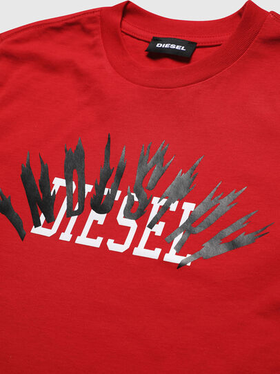 Diesel - TDIEGOA10, Red - T-shirts and Tops - Image 3