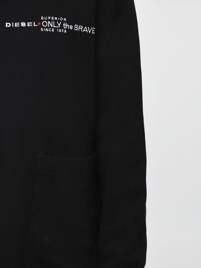 Diesel S-ELLIS-CL, Black - Sweaters - Image 3