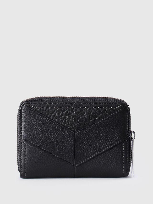 Diesel - JADDAA, Black Leather - Small Wallets - Image 2