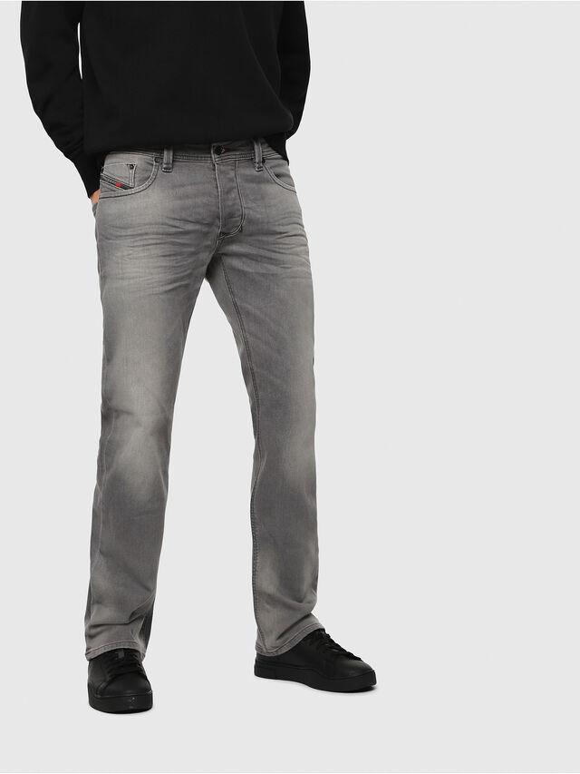 Diesel - Larkee C84HP, Light Grey - Jeans - Image 1