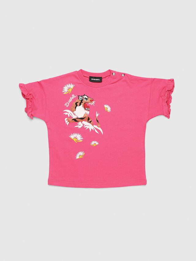 Diesel - TUINAB, Pink - T-shirts and Tops - Image 1
