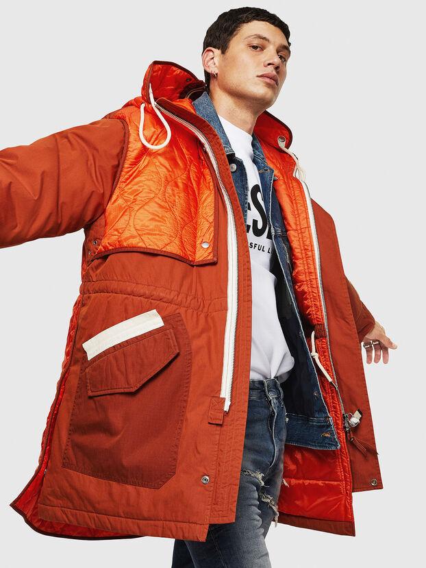 W-KOVIK, Orange - Winter Jackets