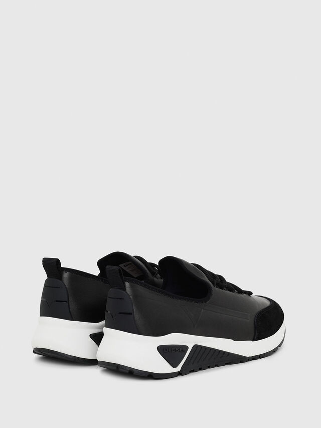 Diesel - S-KBY, Black Leather - Sneakers - Image 3