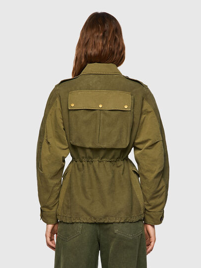 Diesel - G-CLAUDIA, Military Green - Jackets - Image 2