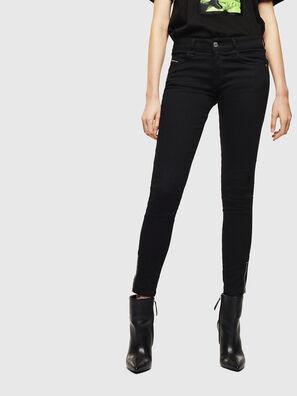 Slandy Low 069EF, Black/Dark grey - Jeans
