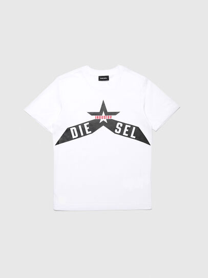 Diesel - TDIEGOA7, White - T-shirts and Tops - Image 1