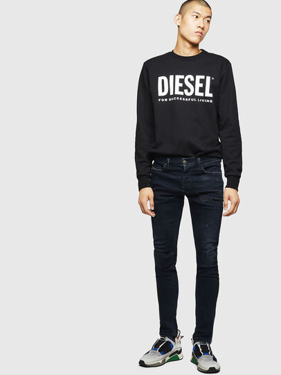 Diesel - Tepphar 069GM, Black/Dark grey - Jeans - Image 5