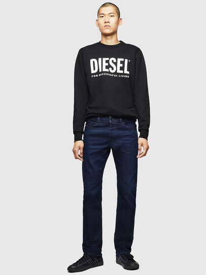 Diesel - Waykee 0860Z, Dark Blue - Jeans - Image 5