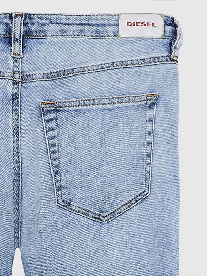 Diesel - Babhila A84PR, Light Blue - Jeans - Image 4