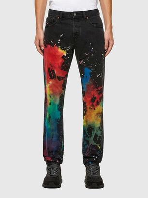 D-Kras 009QV, Black/Dark grey - Jeans
