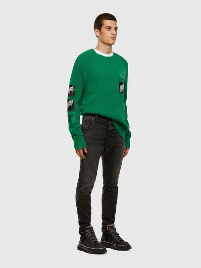 Diesel - KROOLEY JoggJeans® 009FZ, Black/Dark grey - Jeans - Image 5