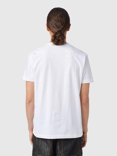 Diesel - T-DIEGOS-B15, White - T-Shirts - Image 2