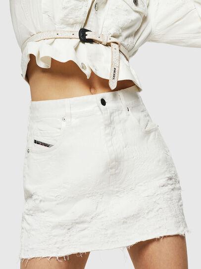 Diesel - DE-JODY, White - Skirts - Image 1