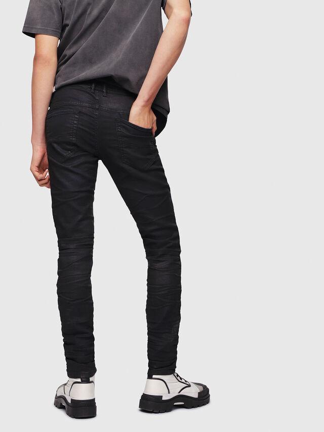 Diesel Thommer JoggJeans 0688U, Black/Dark grey - Jeans - Image 3