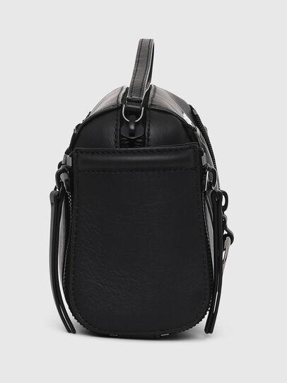 Diesel - LE-ZIPPER CROSSBODY, Black - Crossbody Bags - Image 3