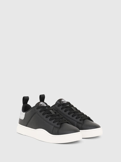 Diesel - S-CLEVER LOW LACE W, Black/Silver - Sneakers - Image 2