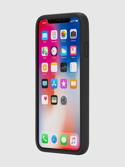 Diesel - BLACK DENIM IPHONE X CASE, Black - Cases - Image 3