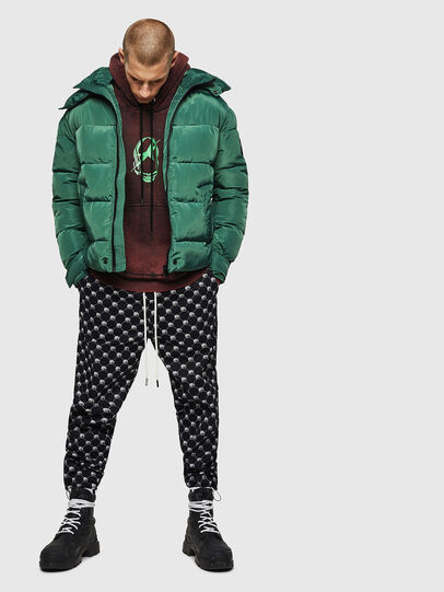 Diesel - W-SMITH-YA-WH, Dark Green - Winter Jackets - Image 6