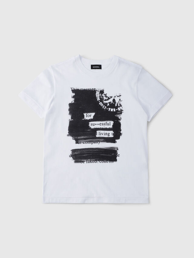 Diesel - TDIEGORH, White - T-shirts and Tops - Image 1