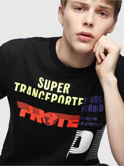 Diesel - T-WALLACE-CUT,  - T-Shirts - Image 4