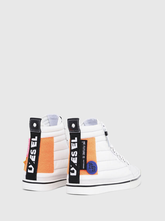 Diesel - D-VELOWS MID PATCH, Multicolor/White - Sneakers - Image 3