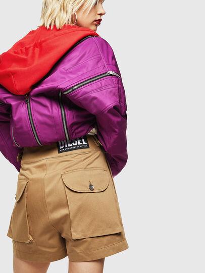 Diesel - S-BISA, Light Brown - Shorts - Image 2