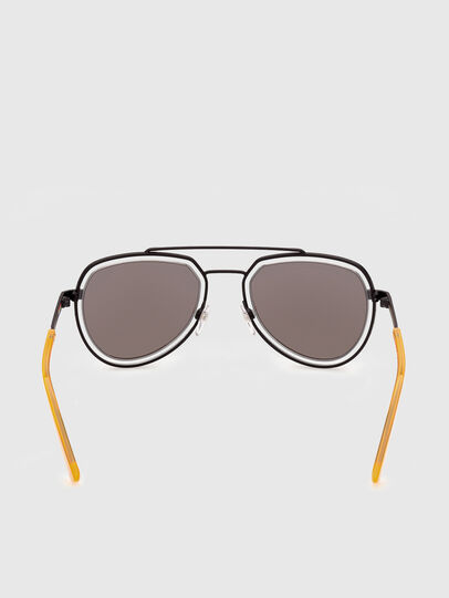 Diesel - DL0266, Yellow - Sunglasses - Image 4