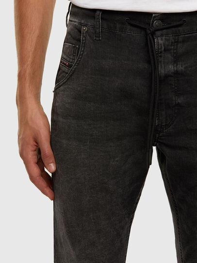 Diesel - KROOLEY JoggJeans® 009FZ, Black/Dark grey - Jeans - Image 3