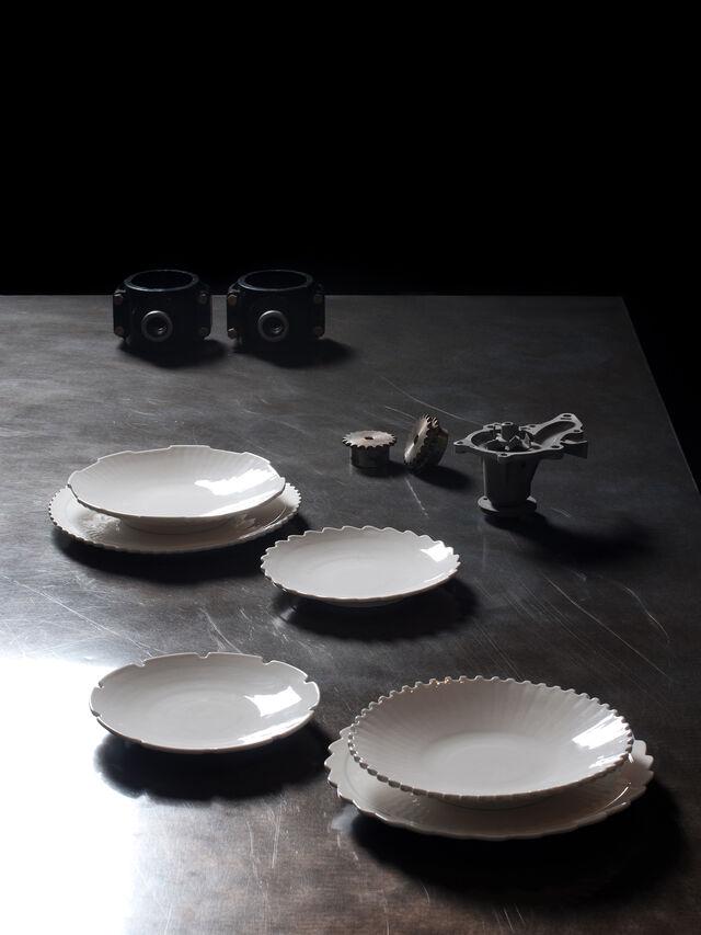 Diesel - 10993 MACHINE COLLEC, White - Plates - Image 3