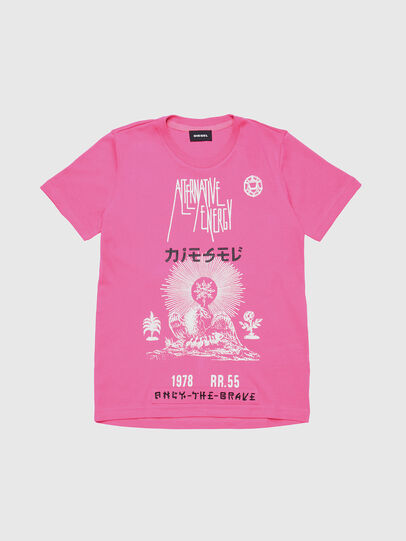 Diesel - TSILYWC, Pink - T-shirts and Tops - Image 1