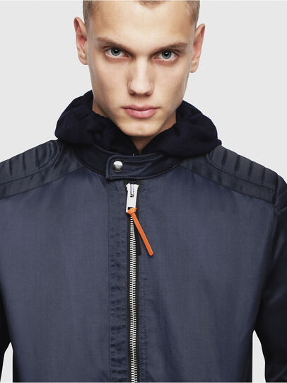Diesel - J-SHIRO, Dark Blue - Jackets - Image 3