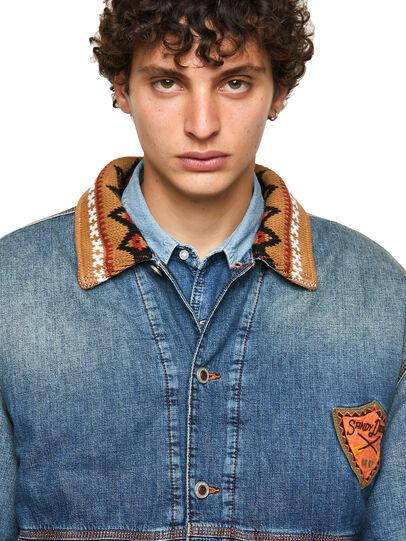 Diesel - DxD-J3, Light Blue - Denim Jackets - Image 3