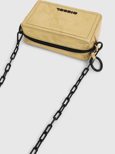 Diesel - ROSA' PCHAIN, Gold - Crossbody Bags - Image 6