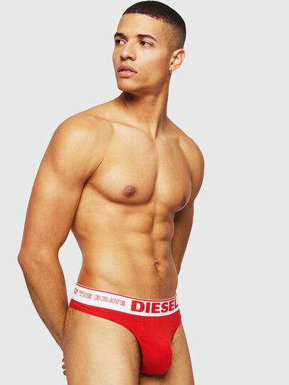 Diesel - UMBR-STRING, Red - Briefs - Image 2