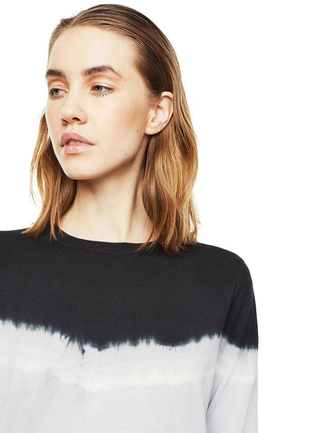 Diesel - MYED, White/Black - Knitwear - Image 3