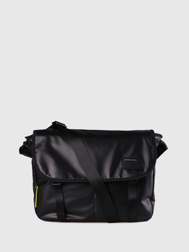 Diesel - F-DISCOVER MESSENGER, Black - Crossbody Bags - Image 1