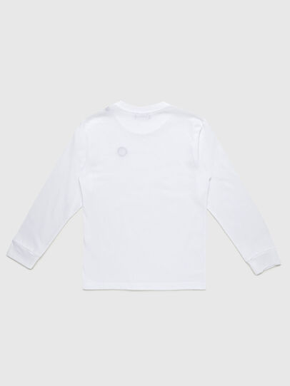 Diesel - TFREDDY ML, White - T-shirts and Tops - Image 2