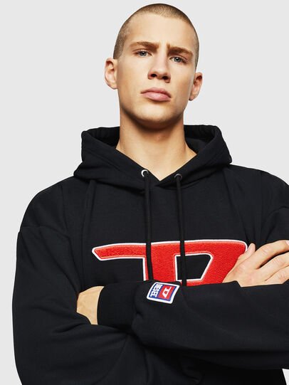 Diesel - S-DIVISION-D, Black - Sweaters - Image 3