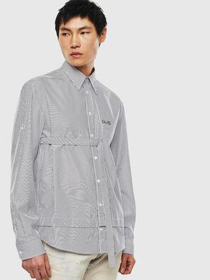 S-GARNET, White/Black - Shirts