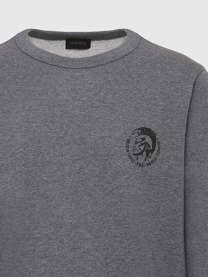Diesel - UMLT-WILLY, Grey Melange - Sweaters - Image 3