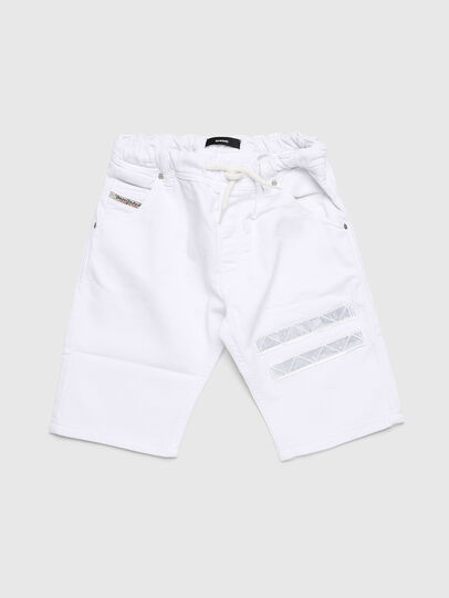 Diesel - KROOLEY-NE-J SH-T JJ, White - Shorts - Image 1