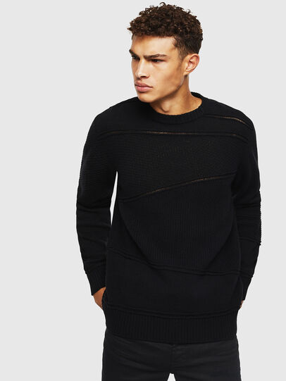 Diesel - K-PATHY, Black - Knitwear - Image 1