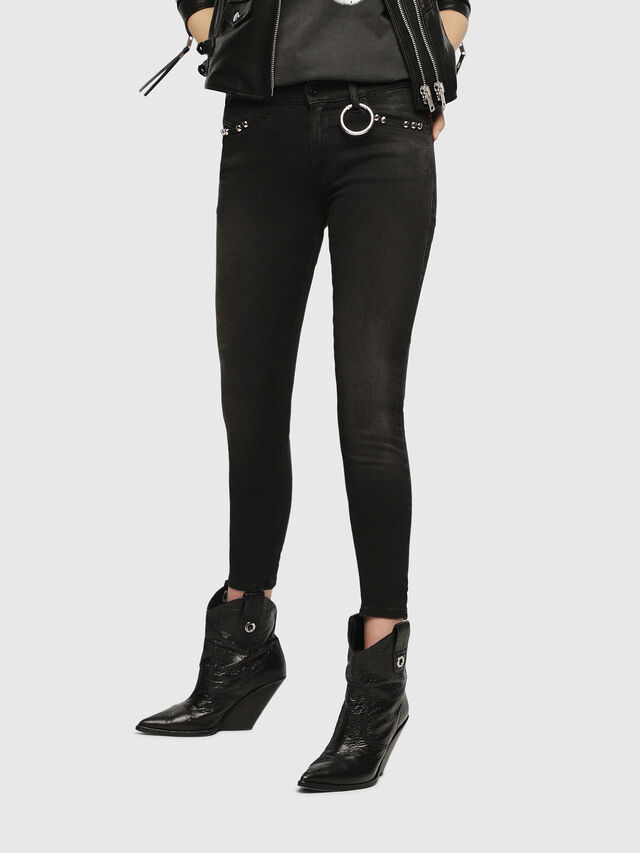 Diesel - Slandy 069HD, Black/Dark grey - Jeans - Image 1