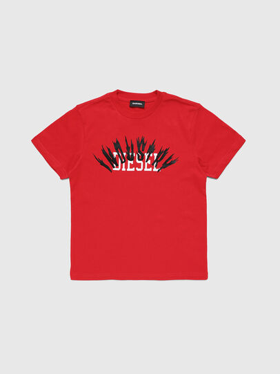 Diesel - TDIEGOA10, Red - T-shirts and Tops - Image 1