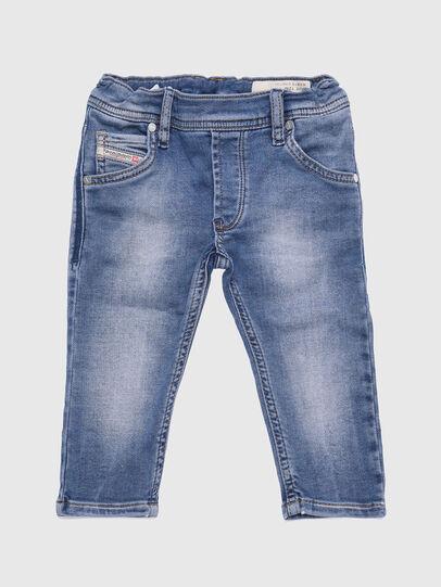 Diesel - KROOLEY-B-N JOGGJEANS, Light Blue - Jeans - Image 1