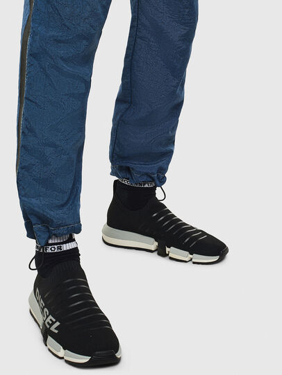 Diesel - H-PADOLA LOW SOCK, Black - Sneakers - Image 8