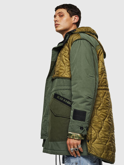 Diesel - W-KOVIK, Military Green - Winter Jackets - Image 7